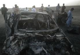 حادثه خونین در جاده سراوان به خاش؛ ۶ نفر در آتش سوختند/ تصاویر