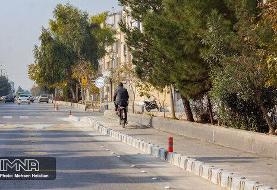 استقبال ضعیف خرمآبادیها از دوچرخهسواری