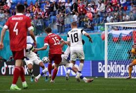 اولین برد روس ها در یورو برابر فنلاند
