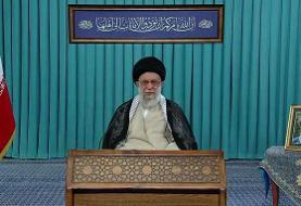 ترجمه کتیبه نصب شده در حسینیه امام خمینی در سخنرانی امروز رهبر انقلاب