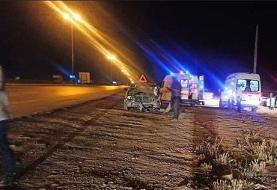 ۶ کشته در تصادف وانت تویوتا