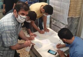 حاشیه های انتخاباتی خبرنگار ایسنا از شعبه مسجد لرزاده تهران