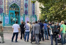 حاشیه نگاری خبرنگار ایسنا از حسینیه ارشاد