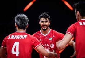 میثم صالحی امتیازآورترین بازیکن ایران مقابل اسلوونی