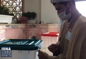 ویدئو / نخستین دقایق رایگیری در حرم مطهر رضوی