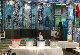 رییسی در شهرری رای خود را به صندوق انداخت