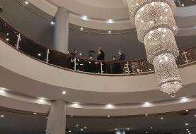 قالیباف به وزارت کشور رفت +عکس