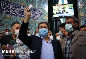 عبدالناصر همتی به ستاد انتخابات کشور رفت