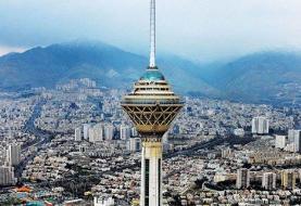 کیفیت هوای تهران در شرایط « قابل قبول»