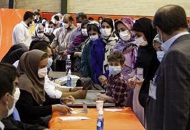 مشارکت ۴۴ درصدی مردم آذربایجان شرقی تا ساعت ۲۴