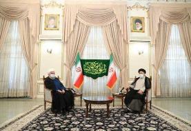 روحانی به دیدار رئیسجمهور منتخب رفت