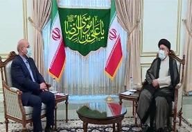 قالیباف با رئیسجمهور منتخب دیدار و گفتگو کرد