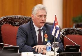 رئیسجمهور کوبا به رئیسی تبریک گفت