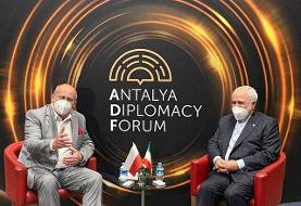 دیدار وزاری خارجه ایران و لهستان