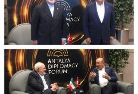 توافق وزرای خارجه ایران و ترکیه درباره برنامه کاری نشستهای سه جانبه تهران-آنکارا-باکو