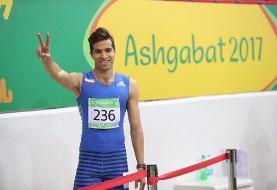 نایب مرد المپیکی ایران در فرانسه