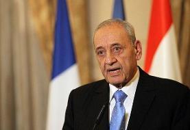 تبریک نبیه بری در پی پیروزی رئیسی