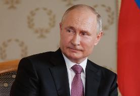 پوتین به رئیسی تبریک گفت