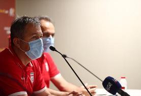 اسکوچیچ: بازیکنان تیم ملی به بازی با عراق توجه نداشته باشند