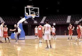 برگزاری اولین دیدار تیم ملی بسکتبال در ژاپن به یاد زلزلهزدگان