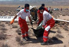 ۲ کشته در سقوط هواپیما (+عکس)