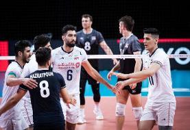 رونمایی از بازیکن جدید والیبال ایران مقابل فرانسه