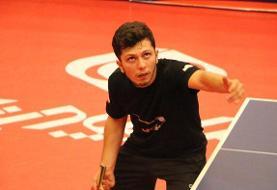 احمدیان دومین ملی پوش ایران در تنیس روی میز قهرمانی آسیا