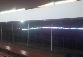 برق استادیوم آزادی رفت