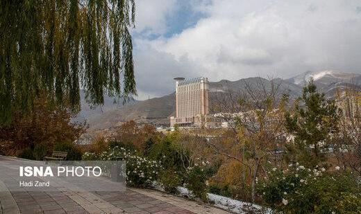 آسمان تهران صاف تا کمی ابری/ کاهش کیفیت هوا در  این مناطق پایتخت