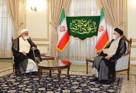رئیس دفتر مقام معظم رهبری با «سید ابراهیم رئیسی» دیدار کرد