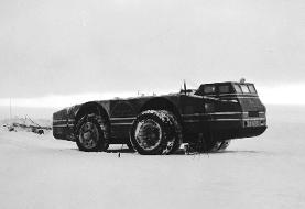 کروزر برفی جنوبگان؛ یک خودروی غول پیکر با سرانجامی مرموز! (+عکس و فیلم)