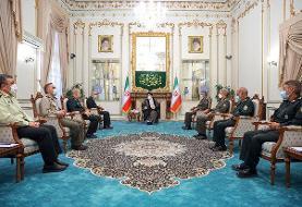 فرماندهان ارشد نیروهای مسلح با رئیسجمهور منتخب دیدار کردند