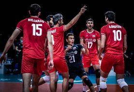 لیگ ملتهای والیبال/ ایران ۱ - ۲ آرژانتین