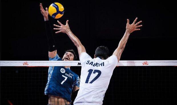 دهمین شکست والیبال ایران: پایان کار تیم ملی والیبال در لیگ ملتها با شکست برابر آرژانتین