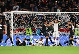 فرار آلمان از حذف در دقایق پایانی | صعود سخت ژرمن ها با تساوی برابر مجارستان