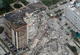 افزایش مفقودی ها ریزش ساختمان در آمریکا به ۱۵۹ نفر