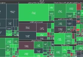 جزئیات شاخص و معاملات بورس امروز شنبه پنجم تیر ۱۴۰۰