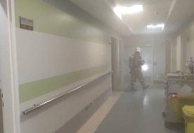 آتش سوزی شبانه بیمارستانی در مرکز تهران