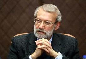 تسلیت لاریجانی به رئیس دفتر رهبری