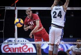 بچه ها متشکریم: والیبال ایران میزبان مسابقات ایتالیا را شکست داد