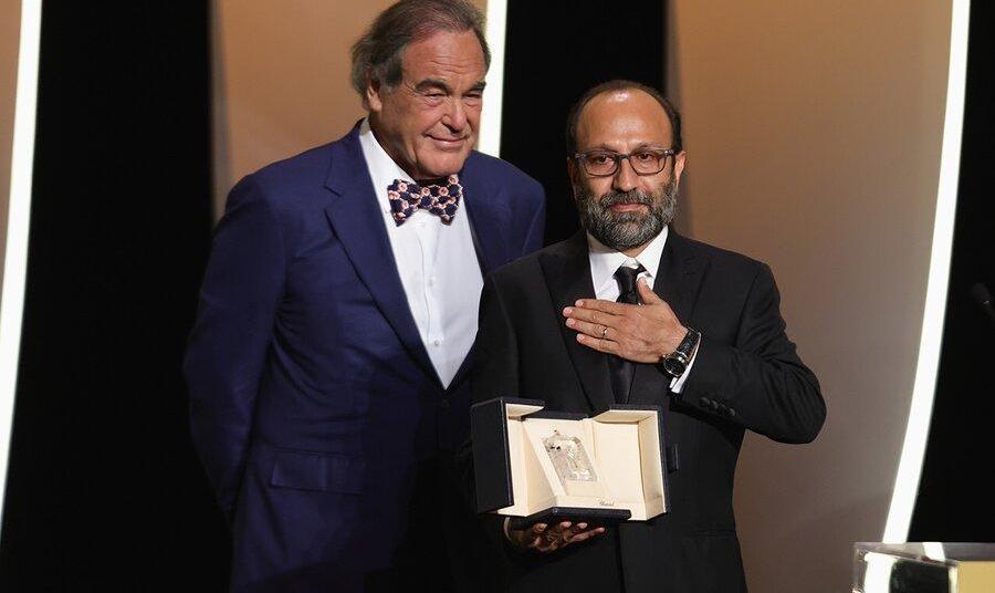 اهدای جایزه بزرگ کن ۲۰۲۱ به قهرمان اصغر فرهادی/ نخل طلا به فرانسه رسید