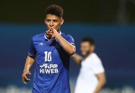 گل قایدی، بهترین گل از راه دور مرحله گروهی لیگ قهرمانان آسیا شد