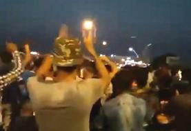 هفتمین شب اعتراضات خوزستان؛ آمریکا میگوید تظاهرات را زیر نظر دارد