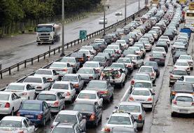 ترافیک سنگین در سه محور مواصلاتی کشور