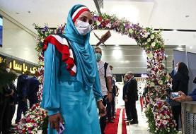لباس بانوان ورزشکار ایران در افتتاحیه المپیک تغییر کرد | پوشش جدید به توکیو فرستاده شد