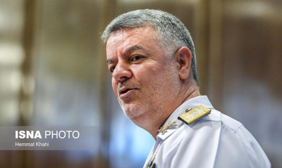 برنامه سفر فرمانده نیروی دریایی ایران به روسیه