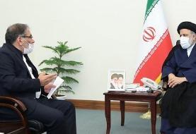 در دیدار شمخانی با رئیسی درباره خوزستان چه گذشت؟