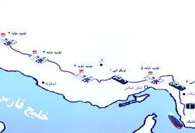 ایران تنگه هرمز را دور زد / افتتاح خط لوله نفت گوره به جاسک