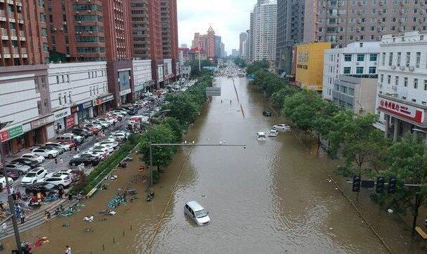 افزایش شمار قربانیان سیل در چین