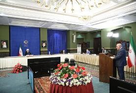 روحانی: قانون مجلس اجازه نداد تحریمها را برداریم